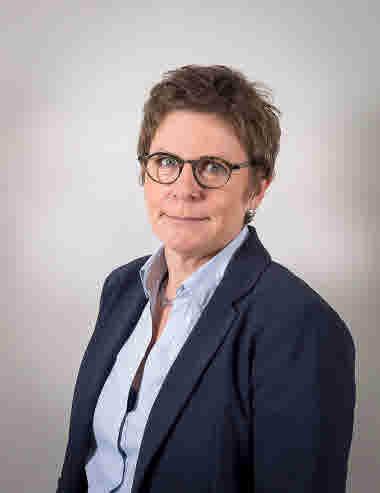 Gunhild Nordesjö Haglund, chefläkare Länssjukhuset i Kalmar
