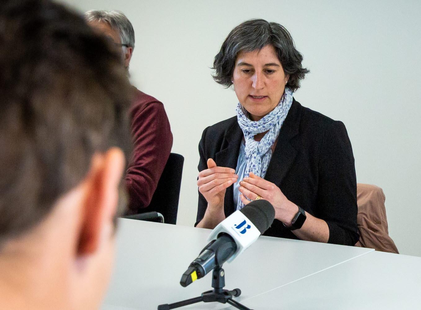 Lisa Labbé Sandelin, smittskyddsläkare