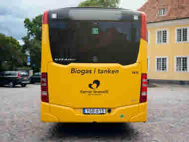 Biogas i tanken
