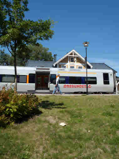 Öresundståg vid Nybro station 2